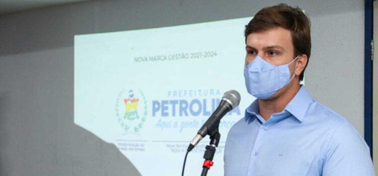 Miguel Coelho apresenta compromissos de segundo mandato e afirma que Petrolina terá o maior crescimento de Pernambuco