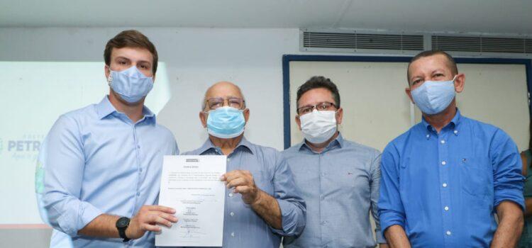 Miguel Coelho assina convênio de R$ 5,1 milhões para novas obras