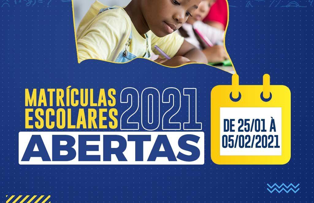 Está chegando a hora de fazer a Matrícula Escolar 2021