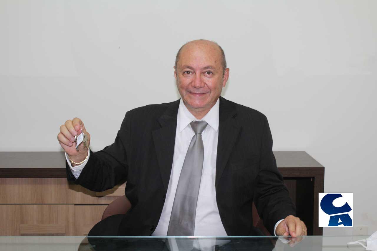 Discurso de Gildevan Melo recebendo as chaves da Prefeitura de…