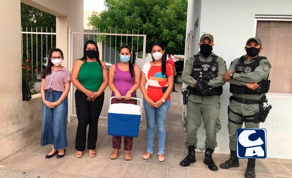 Santa Filomena recebe primeiro lote de vacina contra o Coronavírus