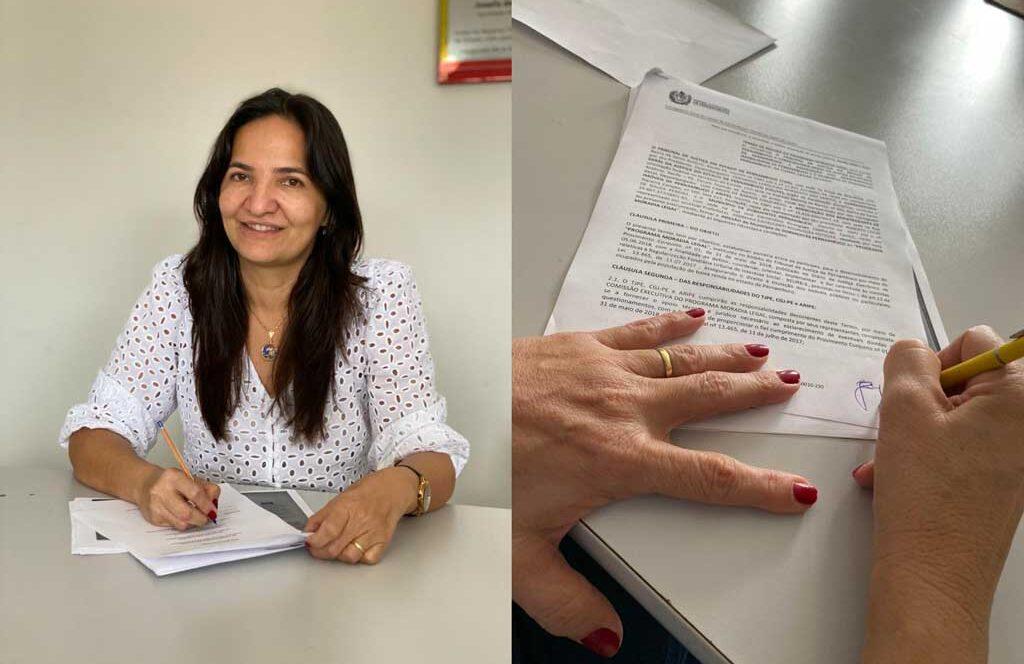 Dormentes: Prefeita Josimara Cavalcanti assina adesão ao Programa Moradia Legal