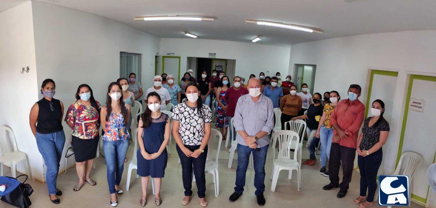 Prefeito de Santa Filomena realiza primeira reunião com equipe do Hospital Municipal