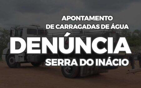Denúncia no apontamento de carradas d'água do Exército na Serra…