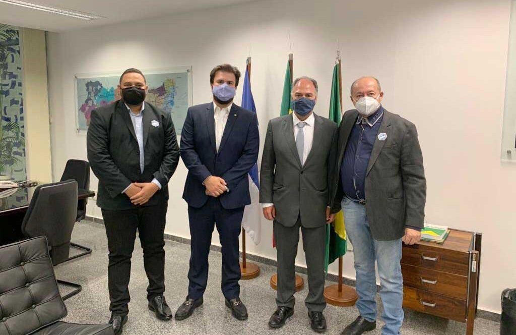 Prefeito Gildevan cumpre agenda em Brasília e busca apoio para realizar investimentos no município