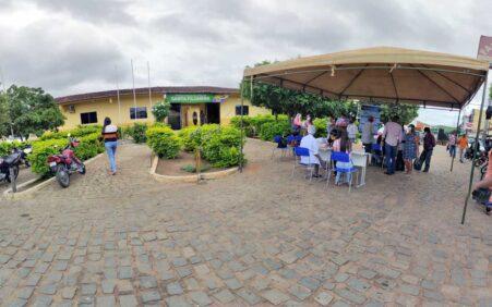 Santa Filomena: Prefeitura realiza primeira testagem em massa da Covid-19