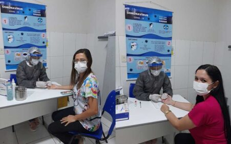Profissionais de saúde de Santa Filomena são testados para Covid-19;…