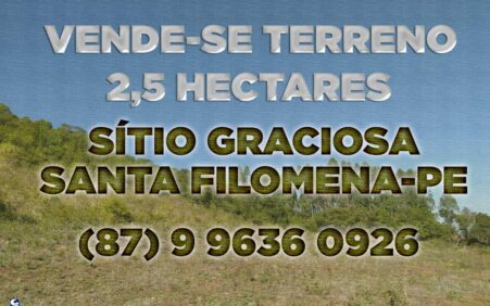 Vende-se: Terreno com 2,5 hectares no sítio Graciosa em Santa…