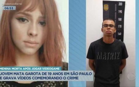 Jovem mata garota e grava vídeos comemorando o crime