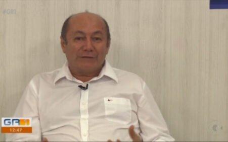 Entrevista à TV Grande Rio Prefeito Gildevan anuncia banho de asfalto em Santa Filomena