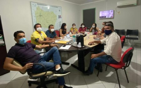 Josimara Cavalcanti reúne novo secretariado para avaliar o primeiro mês…