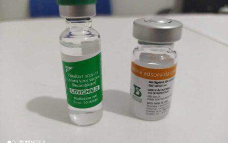 Santa Filomena recebe novas doses da vacina contra Covid-19 e…