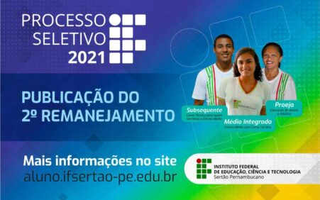 Campus Ouricuri divulga segundo remanejamento do PS 2021