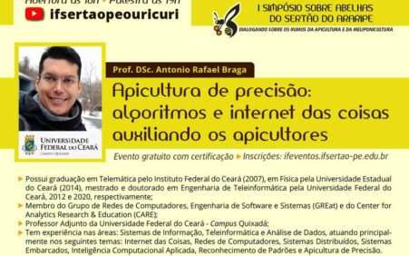Apicultura de precisão é tema da palestra de abertura de eventos sobre a criação de abelhas!