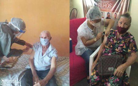 Prefeitura de Santa Filomena continua vacinação de idosos na Sede…