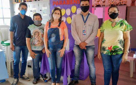 Votorantim e Sec. de Educação visitam escola do distrito de…