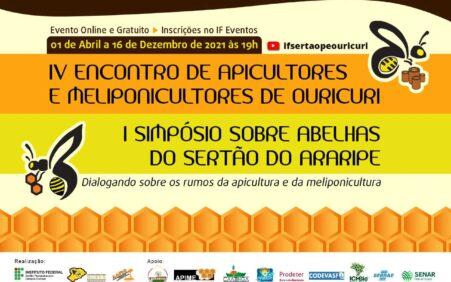 IF Sertão-PE realizará mais uma edição do tradicional Encontro de Apicultores de Ouricuri