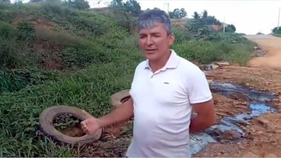 Contraditório: Vereador Reisinho critica desdém de seu aliado, ex-prefeito Cleomatson