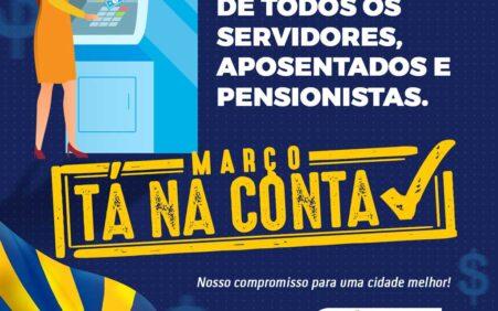 Prefeitura de Santa Filomena paga salários rigorosamente em dia