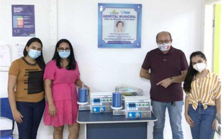 Hospital de Santa Filomena recebe primeiros respiradores há um ano…