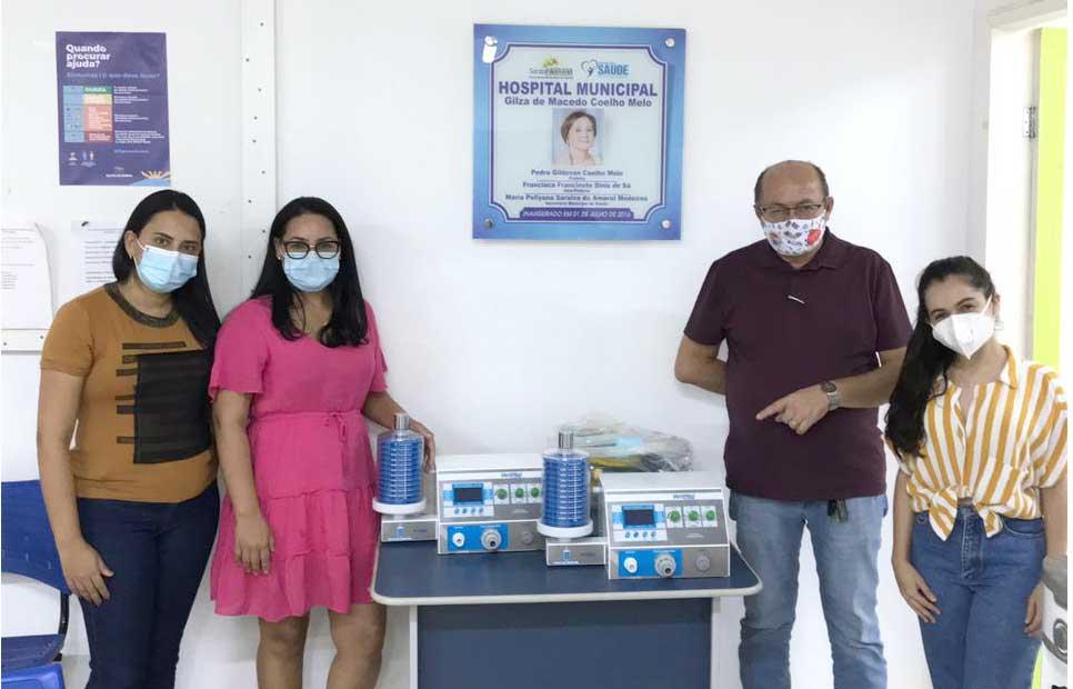 Hospital de Santa Filomena recebe os primeiros respiradores há um ano do início da Pandemia