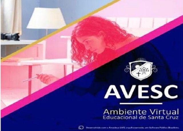 Santa Cruz adota plataforma (AVESC) Ambiente Virtual Educacional para fortalecer o Ensino no Município