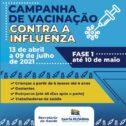 Santa Filomena inicia Campanha de Vacinação conta a Influenza