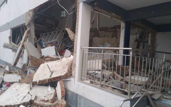 Criminosos explodem agência bancária em Betânia, Sertão de Pernambuco