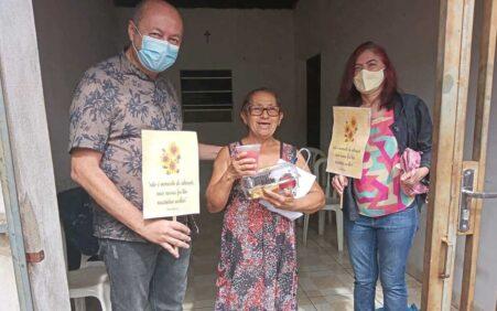 CRAS Santa Filomena realiza momento de acolhida com idosos do…