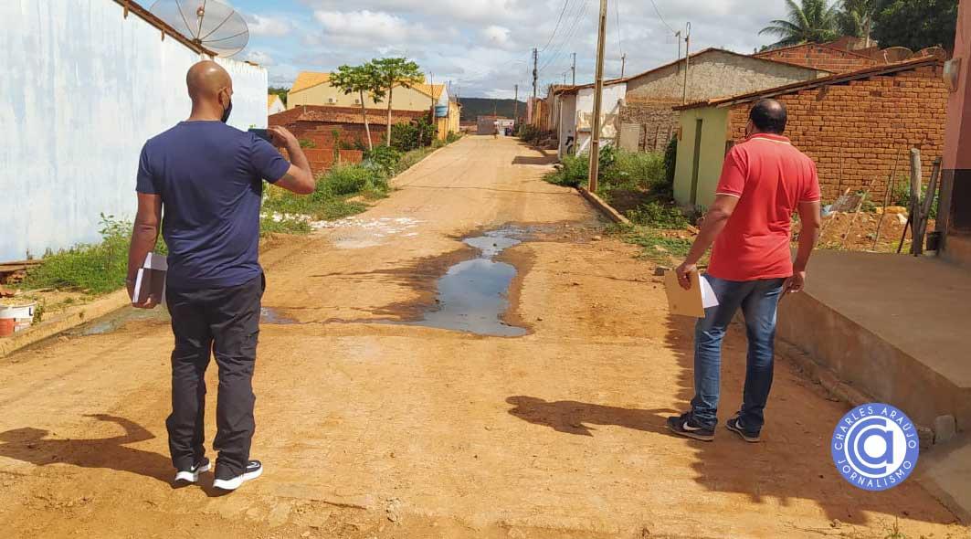 Santa Filomena: Caixa constata indícios de irregularidades e bloqueia obra iniciada na gestão passada