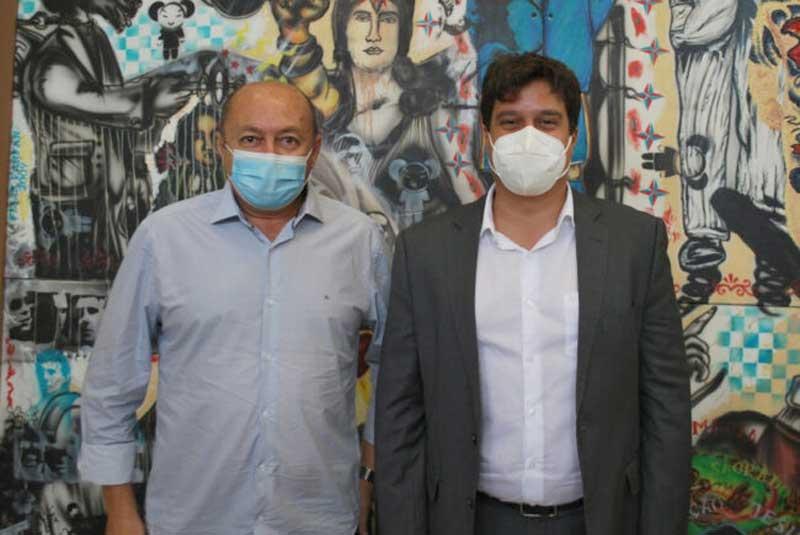 Prefeito Gildevan Melo e secretário Lucas Ramos constroem parcerias para o desenvolvimento de Santa Filomena