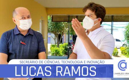 Lucas Ramos vista Santa Filomena e é acolhido pela gestão do prefeito Gildevan Melo
