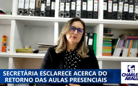 Secretária de Educação de Santa Filomena fala de volta às…