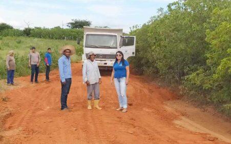 Prefeitura de Santa Cruz intensifica recuperação de estradas vicinais na zona rural