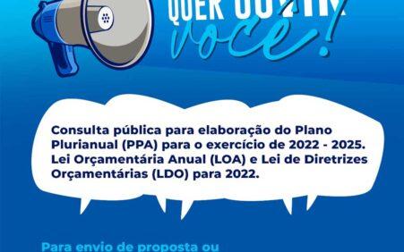 Prefeitura de Santa Filomena disponibiliza consulta pública para elaboração do…