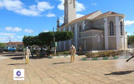 Covid-19: Prefeitura de Santa Filomena realiza sanitização e desinfecção em…