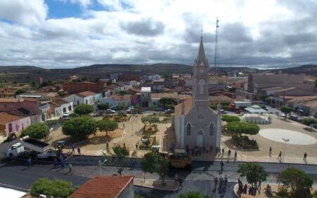 Imagens aéreas de Santa Filomena-PE: Vale apena ver a transformação