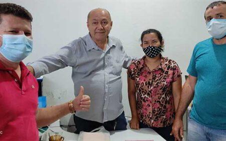 Santa Filomena: Prefeito reúne com equipe para promover ações voltadas…